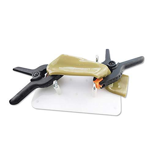 ZHFC Kit de práctica de sutura intestinal Simulador de Entrenador laparoscópico para Estudiantes de Medicina Uso de Entrenamiento de enfermería, Incluye Clip de Soporte y Base de Soporte