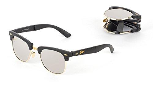 Pufmania Gafas de sol plegables Folders Style Graphite Silver