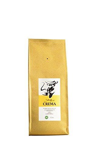 SANTANA CREMA Ganze Kaffeebohnen, Fairtrade Kaffeebohnen, Hochland Kaffee, Dominikanischen Republik, Direkt von der Familie Santana, 1 kg