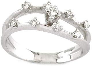 Gems&Gold Anello in Oro Bianco 18KT con Diamanti (14)