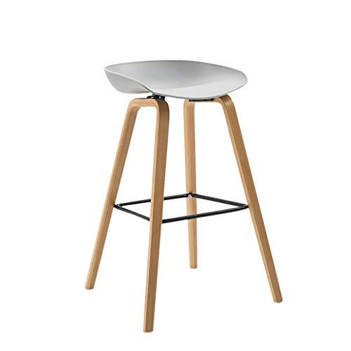 AIYE Klapstoel Moderne Comfortabele Armless Bar Kruk, Counter Hoogte Bistro Pub Zijkrukken, Backless Barkrukken met Houten Benen, voor Thuis & Keuken - 7 Kleuren