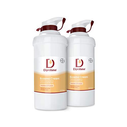 Diprobase Eczema Cream 1000g for Treatment of Eczema Symptoms and Dry Skin