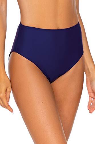 Sunsets Women's The High Road Full Coverage Bikini Bottom Swimsuit, Indigo, X-Large