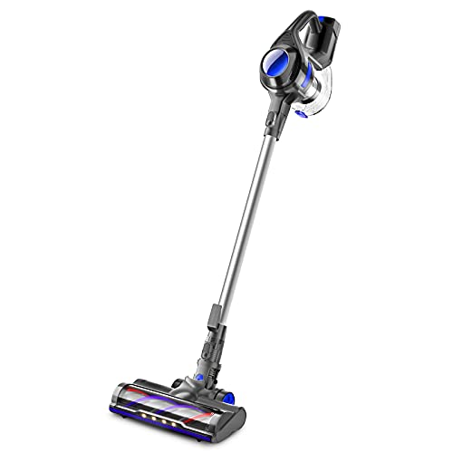 MOOSOO Cordless Vacuum 4 in 1 Powerful Suction...