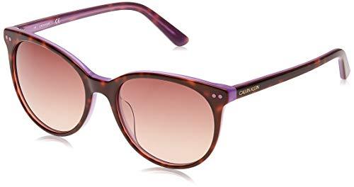 Calvin Klein Womens CK18509S Sunglasses, TORT/STGLD, Einheitsgröße