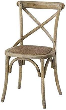 Amazon.es: sillas madera - Rústico / Muebles: Hogar y cocina