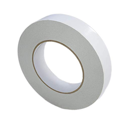 takestop® dubbelzijdig plakband 3 stuks wit 2,5 x 25 m dubbelband deurafdichting deur afdichting raam vast voor alle oppervlakken