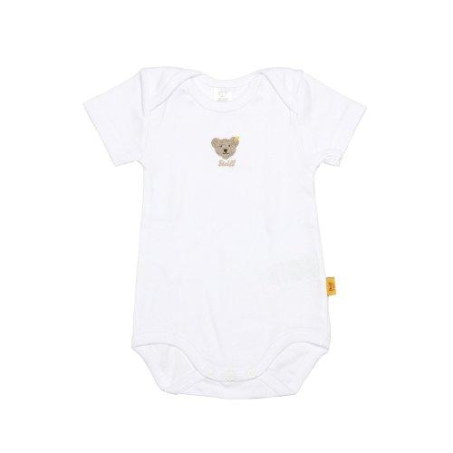 Steiff - 0008513 Body 1/4 Arm - Body Mixte bébé - Blanc (bright white) - FR : 4 ans (Taille fabricant : 104)