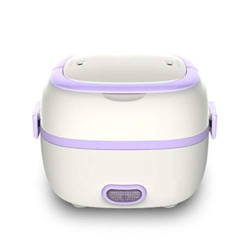 Jiobapiongxin Multifunktionale Elektrische Heizung Lunchbox Mini Reiskocher Tragbare Dampfgarer Hitzebewahrung Elektronische Lunchbox JBP-X