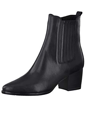 MARCO TOZZI Damen 2-2-25024-25 Leder Stiefelette, Black Antic, 40 EU