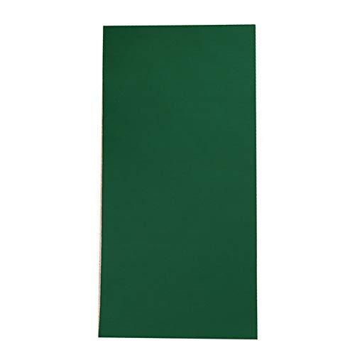 Outtybrave - Juego de 10 parches impermeables de nailon para reparación de chaquetas, ropa, paraguas, nailon, Verde, 10*20cm