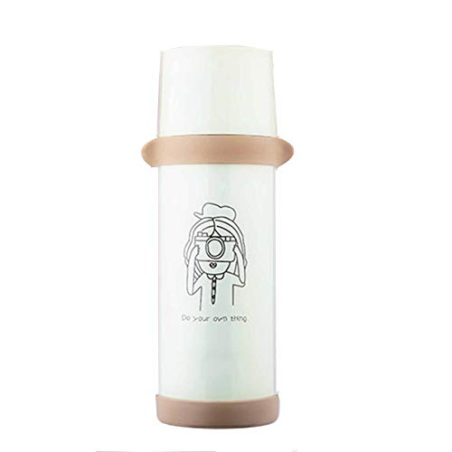 wuxafe Aislamiento de Vacío de Doble Pared Botella termica 720ml Botella de Agua Acero Inoxidable Reutilizable para Viaje Deporte Bicicleta Gimnasio Camping