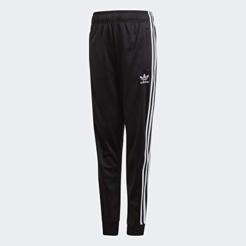 adidas Kinder SST Trackpant Sport Trousers, Black/White, 910Y