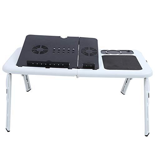 Mesa de bandeja, diseño simplista que aumenta la belleza de tu habitación, soporte para computadora portátil, escritorio para sofá, cama, sofá y elevador de computadora