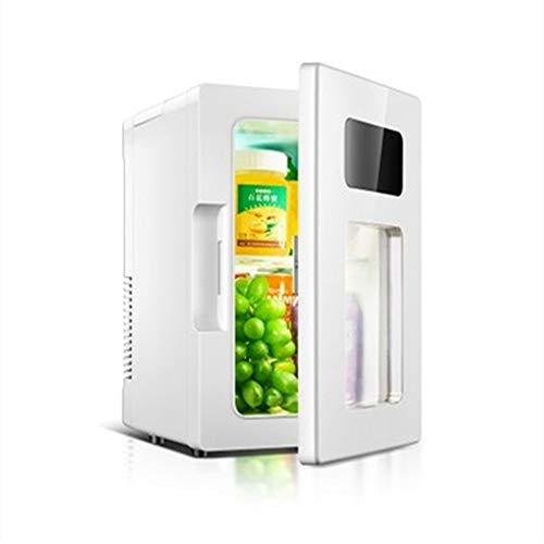 HMLH 10L portátil refrigerador al Aire Libre, Mini refrigerador y Calentador, del hogar del Coche de Doble Uso Nevera Nevera de Bebidas, de Gran Capacidad silencioso Vino Congelador
