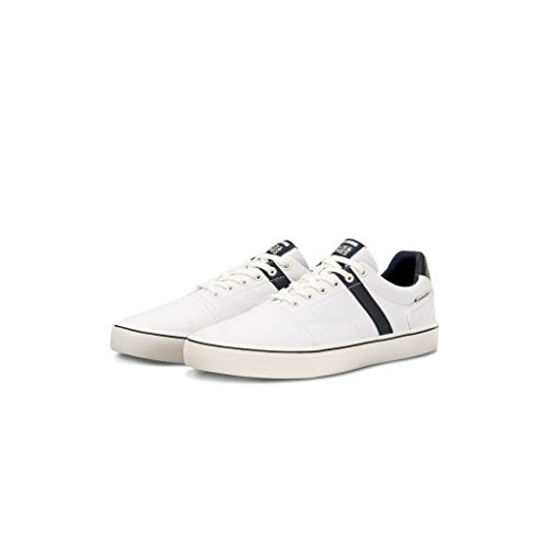 Jack & Jones Jfwcali Canvas Anthracite, Zapatillas para Hombre