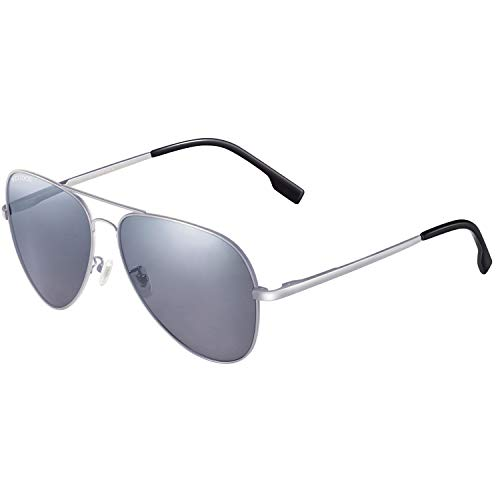 vegoos Hombres Aviador Gafas de Sol Polarizado Conducción Con el Caso UV 400 Protección 3025MSIS
