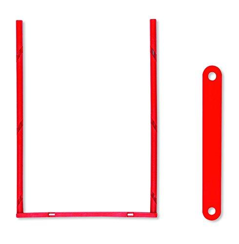 ELBA 100421094 Abheft-Bügel tric system 100 Stück zum Umfüllen und Archivieren von Ordnerschriftgut rot Archivschachtel Archivbox