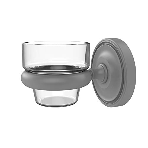 Allied Brass PR-64 Prestige Regal Collection Wall Mounted Votive Candle Holder, Matte Gray