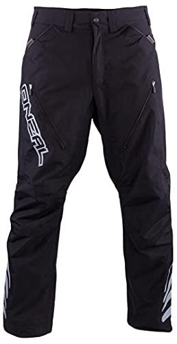 O'Neal | Pantaloni Mountain Bike | MTB Mountain Bike DH Downhill FR Freeride | Materiale Idrorepellente, Inserto Elastico | Predator III Freeride/all Mountain Pants | Adulto | Nero | Taglia 32/48