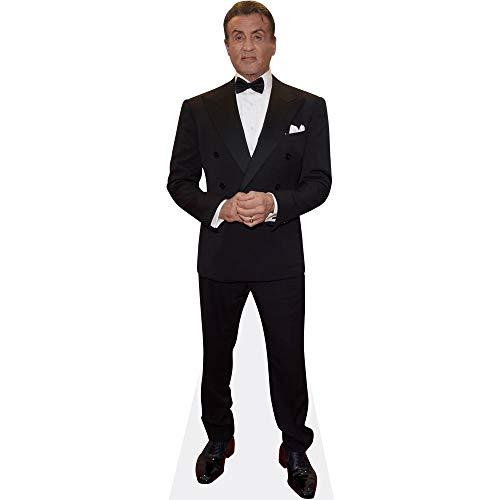 Celebrity Cutouts Sylvester Stallone (Suit) Pappaufsteller Mini