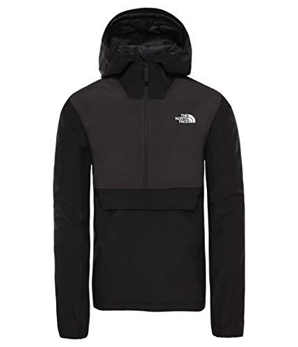 North Face M Waterproof FANORAK-EU Sweatshirt, Schwarz, L für Herren