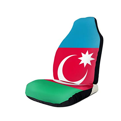 Great Deal! Flag of The Azerbaijan Car Seat Covers for Vehicles Universal 3D Printing Car Seat Cover...