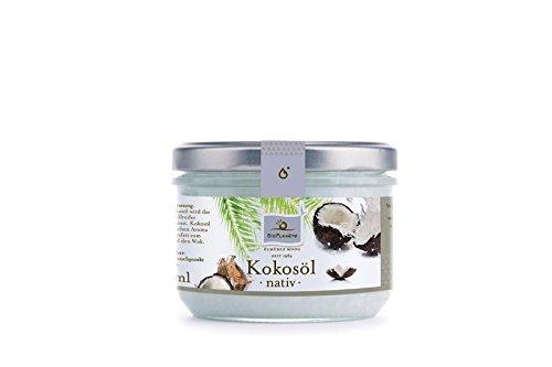 Bio Planète Kokosöl nativ, 2er Pack (2 x 200 ml)
