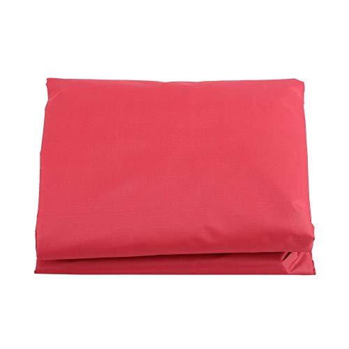 Viccilley Schaukelsitzbezug - Wasserdichter Schaukelsitzbezug Außen Regenfester, langlebiger Staubschutz(rot)