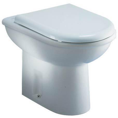 DOLOMITE serie Clodia J254600 Vaso a terra con sedile finitura bianco europa