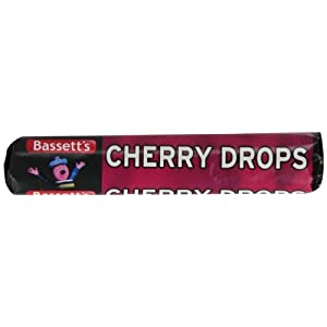 bassett's cherry drops 49 g (pack of 40) Bassett's Cherry Drops 49 g (Pack of 40) 31gggyXfX1L