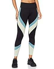 AURIQUE Leggings Sportivi Colour Block Donna