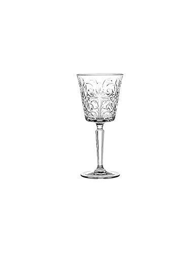 BRANDANI Set 6 Calici Royal Crystal Glass