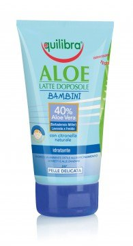 Aloe Latte Doposole Bambini Equilibra 150 Ml