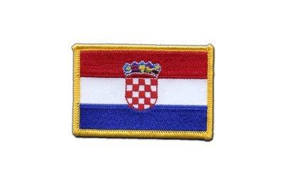 Aufnäher Patch Flagge Kroatien - 8 x 6 cm