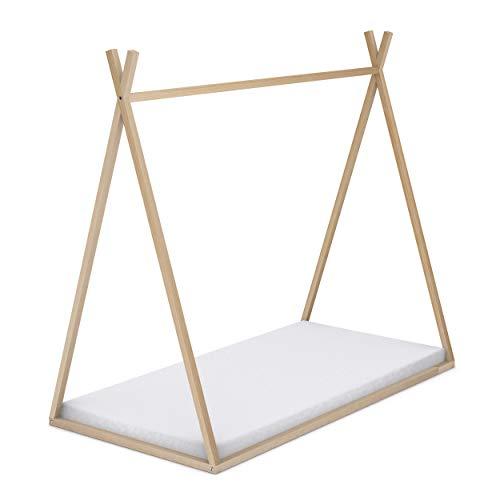 Cama tipi de madera para colchón de 90 x 190 cm