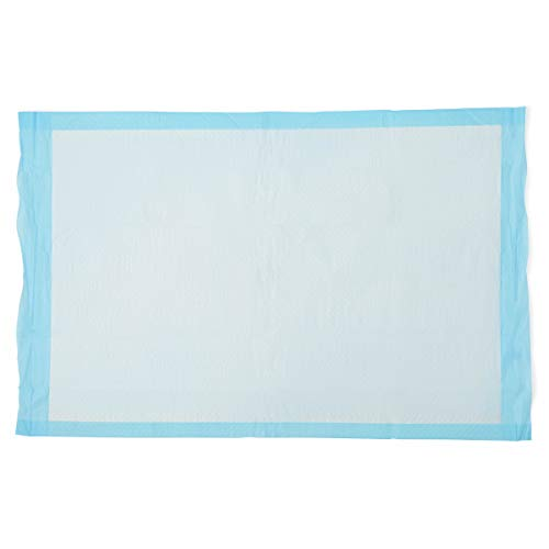 """Quilted Basic Disposable Blue Underpad, 23"""" x 36"""" for incontinence, Furniture Protection or Pet Pads (Pack of 150)"""