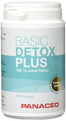 Panaceo Basic-Detox, Zeolith, 200 vegane Kapseln, 90 g