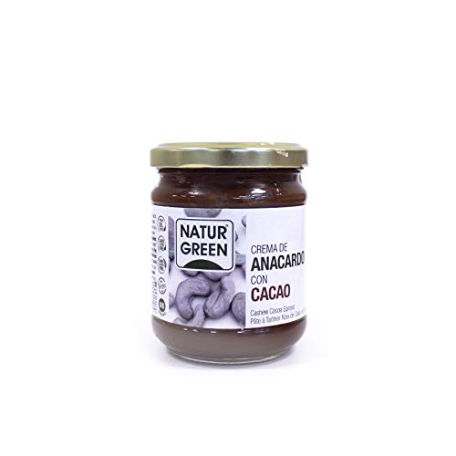 NaturGreen Crema de Ancardo Cacao Bio 200g