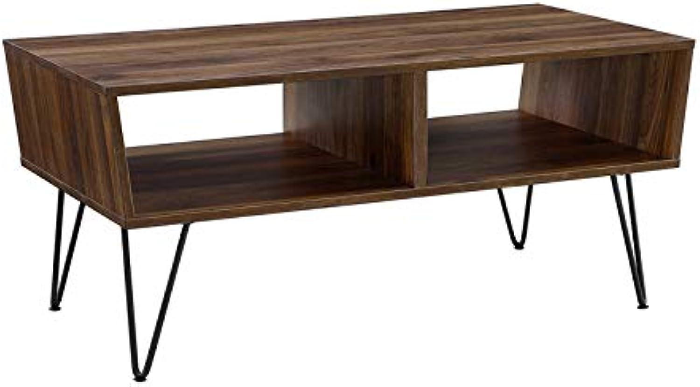 Pemberly Row 42  Coffee Table in Dark Walnut