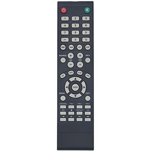 Replacement Remote Fit for RCA LED TV RLDED3258A