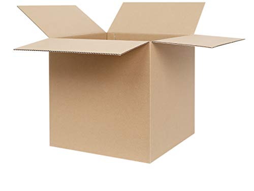 25 Faltkartons 300 x 300 x 300 mm | Versandkarton geeignet für Versand mit DPD, GLS und Hermes | zwischen 25-1000 Kartons wählbar