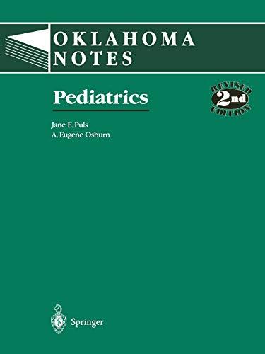 Pediatrics (Oklahoma Notes)
