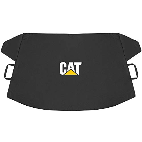 """CAT Frost Guard, Toughest Car Windshield Snow Cover for Ice & Sleet, Weatherproof for Winter, Includes Magnetic Anti-Theft, Freeze Protector for Auto Coupe Sedan Truck Van SUV, Wide Size 78""""x43"""" inch"""