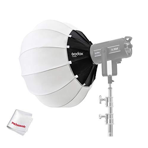 Godox Lantern CS-65D Softbox Softbox-Weichlicht Modifikator für Aputure 300D Mark II 120D Godox SL-60W SL150W II FV150 AD300PRO AD400PRO AD600BM VL150 VL300 und andere Bowens Mount Light