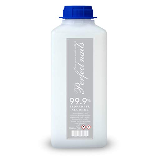 Isopropanol IPA 1 Litre 99.9{29027eb3aea6ab8452915f626d5167fe268f5e047cdfb7eae30dc4d4919a4f91} Cleaning Alcohol for Home, Kitchen, Household, Cosmetics and Industry - Ideal for Cleaning and Grease Removal 1000ml