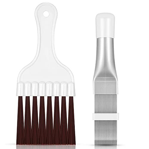 Changzhou 2 Pack Household Cleaning Brush Air Conditioner Condenser Cleaning Brush Kit Fin Cleaner Fin Evaporator Cleaning Tool