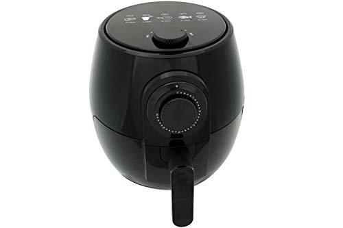 Heißluft Fritteuse DESKI 3,5 Liter 1400 W schwarz glänzend