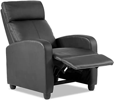 Best Vnewone Recliner Chair for Living Room Lounge Chaise Wingback Single Sofa Modern Home Theater Seatin