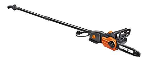 WORX WG310 8' 8A Electric Power Pole Saw, Black and Orange
